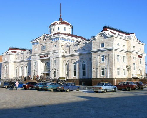 железнодорожный вокзал в Ижевске